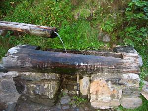 Val sambuzza passo e lago di publino laghi di for Fontane in legno