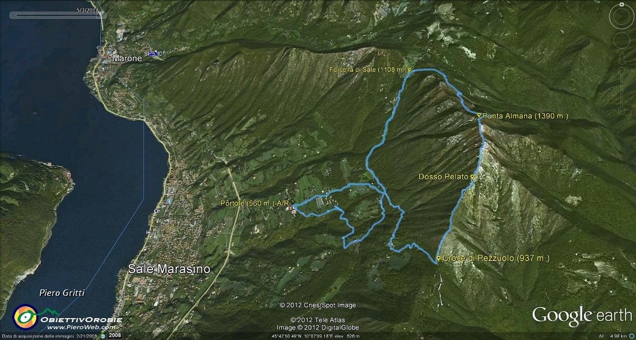 Salita con giro ad anello in PUNTA ALMANA (1390 m.) sul ...