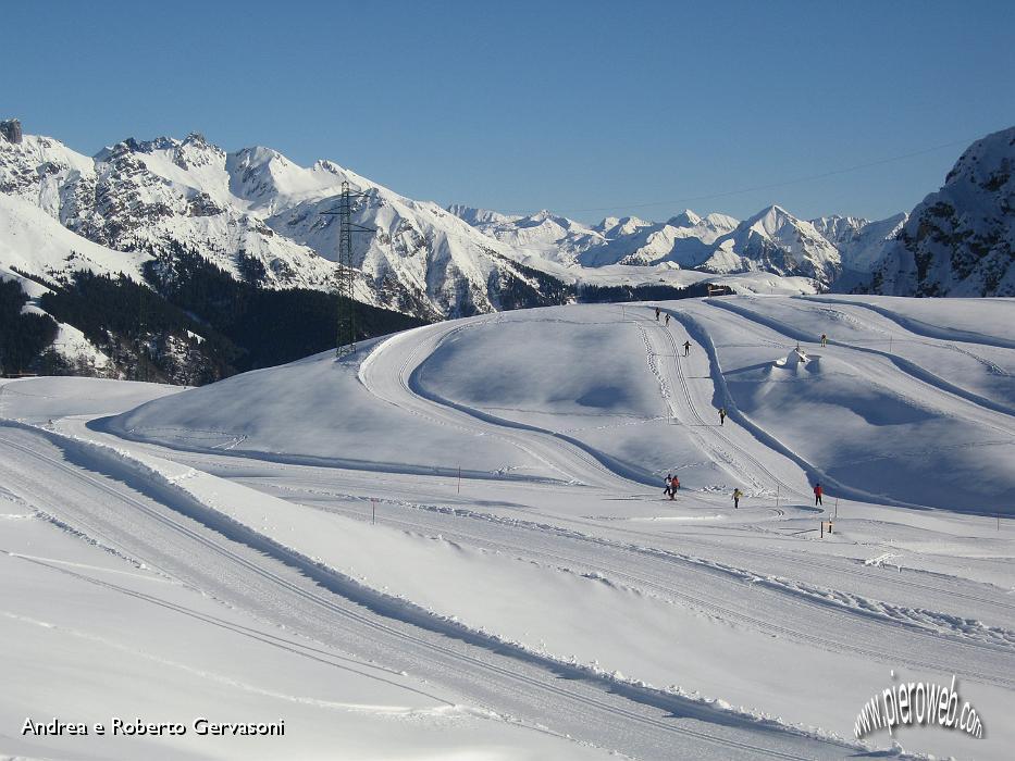 Immagini di sci nordico dalle piste dei piani di bobbio for Piani di fattoria d epoca