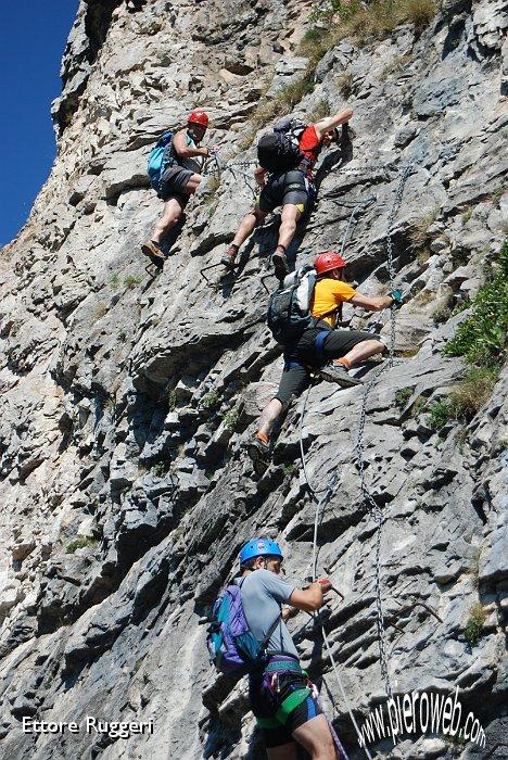 Domenica 14 giugno 2009 Monte Due Mani - Ferrata Simone Contessi/17 ... D80