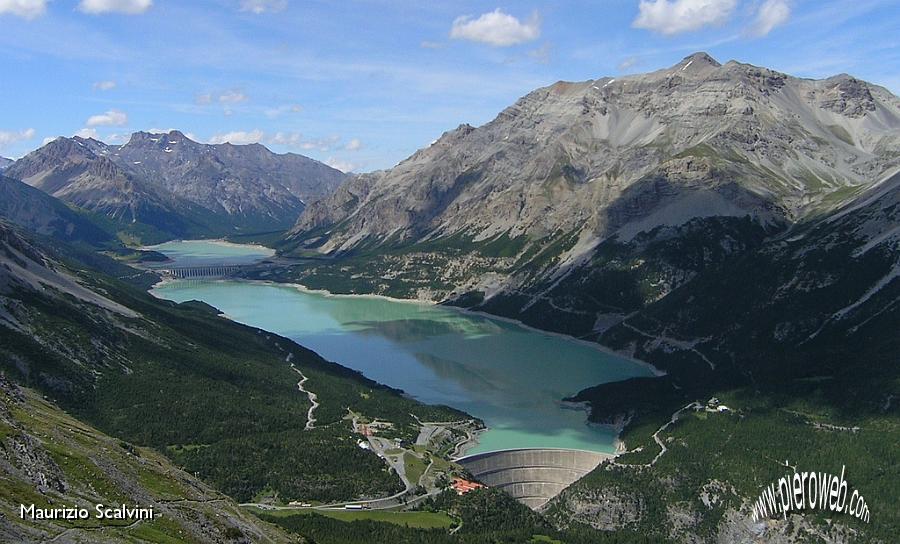 Croce del monte scale 28 luglio 2009 13 i laghi di cancano for Disegni di laghi