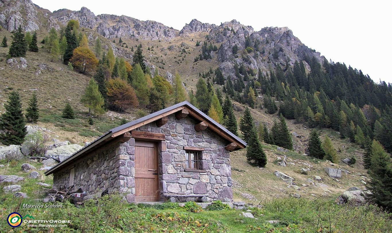 Monte prascagnello le mille baite di ornica 31 baita for Le piu belle baite in montagna