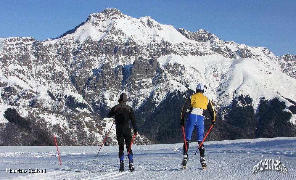 Sci di fondo ai piani di bobbio domenica 20 dicembre 2009 for Piani chalet sci