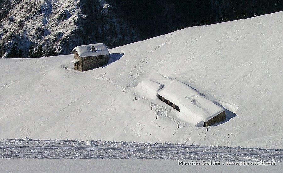 Sci di fondo ai piani dell 39 avaro 25 gennaio 09 10 baite for Piccoli piani di baite
